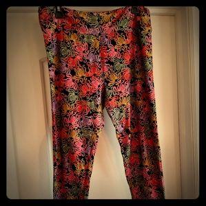 Lularoe buttery soft TC print leggings